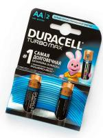 Элемент-Alkaline-AA-LR6-(MX1500)-Duracell-Turbo-Max-BL2