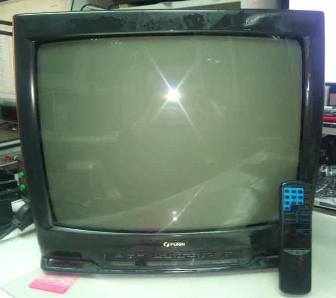 funai tv-2000a mk8 включить av без пульта