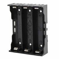 Отсек для аккумуляторов Bh3x18650/pins с выводами для пайки Robiton - Батарейные отсеки